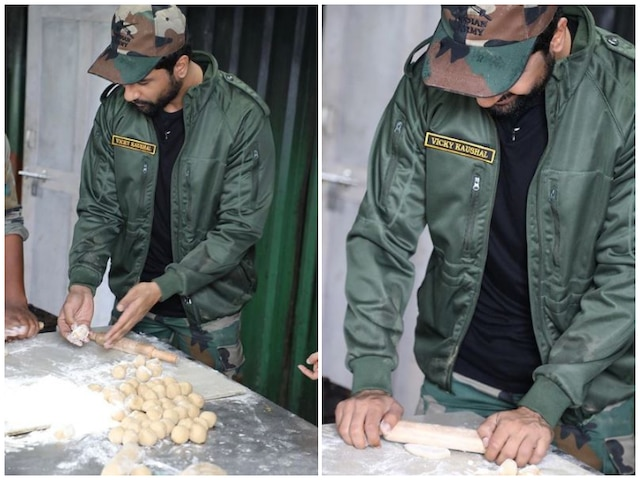 'Uri: The Surgical Strike' Actor Vicky Kaushal Turns Chef For Indian Army! See Pictures!