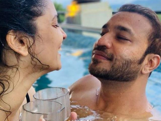 TV Actress Ankita Lokhande Wishes Boyfriend Vicky Jain On His Birthday With Their Romantic Pics!