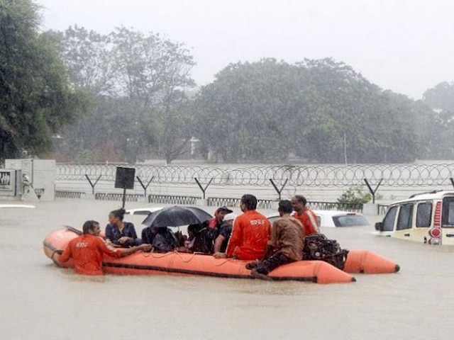 Odisha, Rajasthan Lashed By Heavy Rainfall As Vadodara Recovers From Flooding