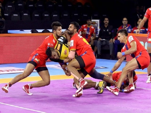 Pro Kabbadi League 7: UP-Telugu play a low-score tie