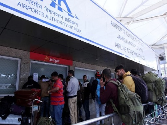 Airlines Told To Spare Additional Capacity For Redeployment To Kashmir