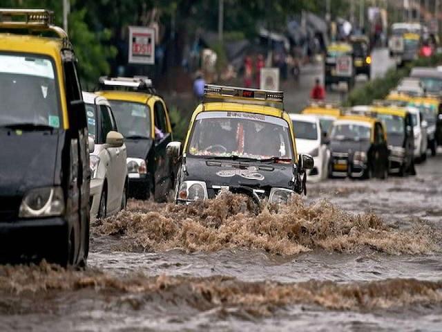 Mumbai rains flood India Meteorological Department