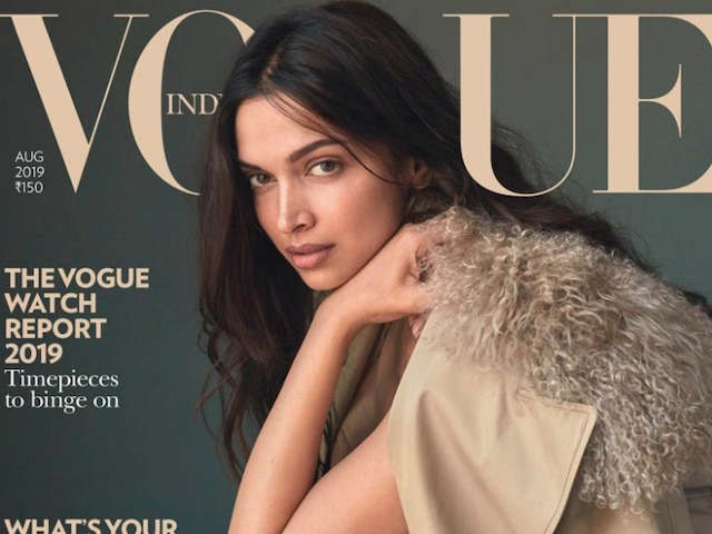 Deepika Padukone Stuns In No-Makeup Look On Vogue Magazine's Cover! See Picture!