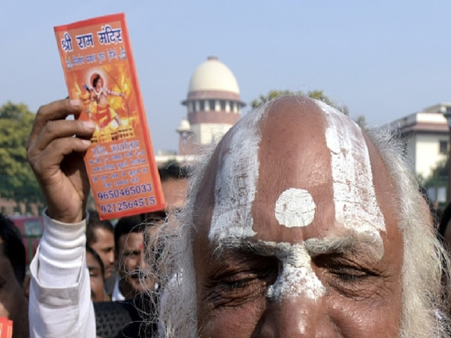 Ayodhya Case: Temple Destroyed To Build Mosque, Says Advocate For Ram Lalla Virajman