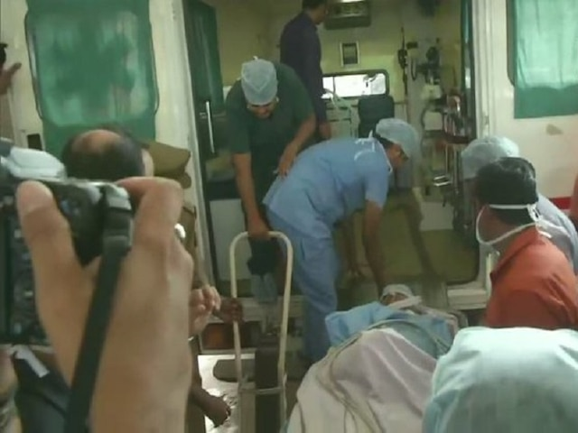 Unnao rape case Rae bareli accident lawyer Mahendra Singh airlifted AIIMS