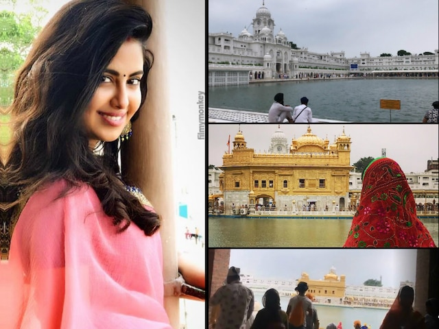 Khatra Khatra Khatra: Avika Gor visits Golden Temple, seeking blessings after Independence Day special episode shoot with BSF!