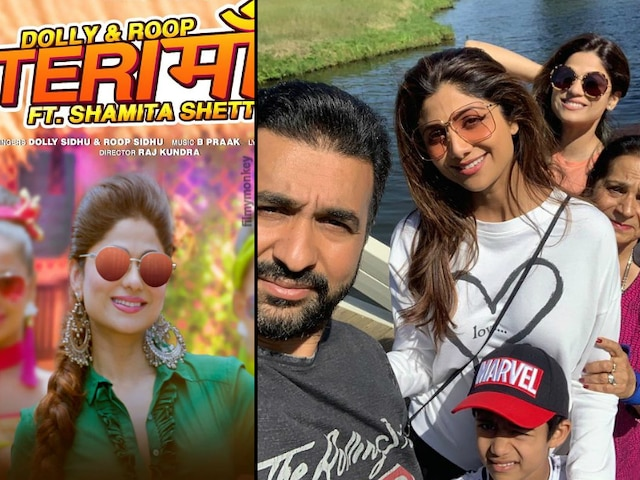Teri Maa Punjabi Music Video: Shamita Shetty enjoys working with bro-in-law Raj Kundra who directed her in her first music video