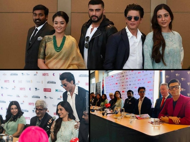 Shah Rukh Khan felicitated at Indian Film Festival of Melbourne 2019