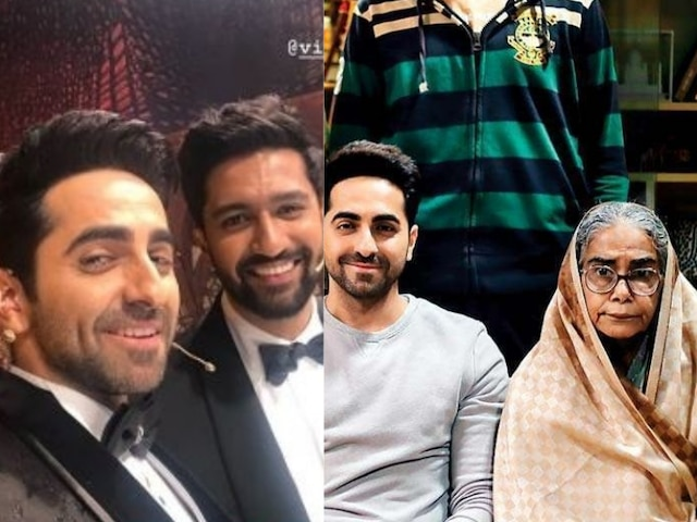 National Film Award: Ayushmann Khurrana Congratulates Fellow Winners Surekha Sikri & Vicky Kaushal