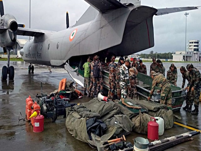 Monsoon Update: Army, Navy Rev Up Rescue Operations In Flood-Hit States