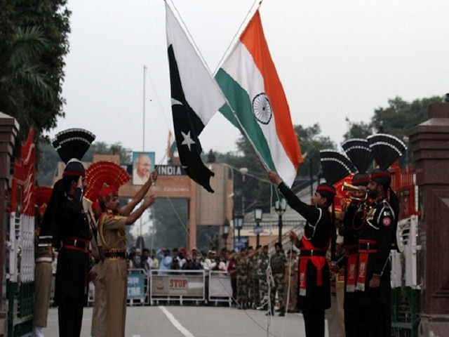 Eid Al adha Pakistan rangers border security force Amritsar Wagah border
