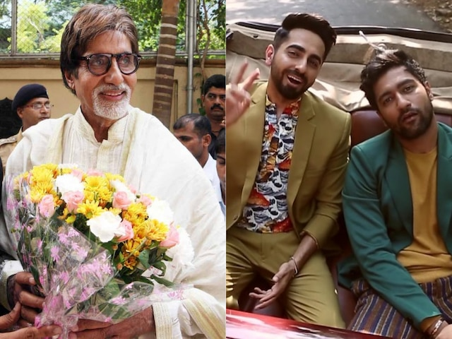 National Award Winners Vicky Kaushal & Ayushmann Khurrana Get Personalized Wishes From Amitabh Bachchan