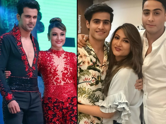 Anuj Sachdeva is perfect for our mom: Urvashi Dholakia's sons Sagar-Kshitij on mother's former boyfriend & current 'Nach Baliye 9' partner