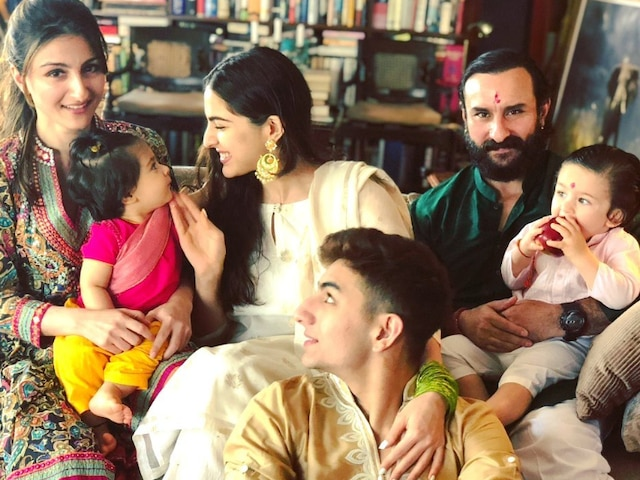 Raksha Bandhan 2019: Soha Ali Khan misses brother Saif, Kareena & Taimur Ali Khan, Shares throwback pics from last year's celebration!