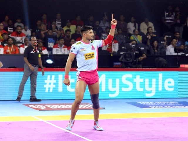 Pro Kabbadi League 2019: Clinical Pink Panthers See Off Gujarat Fortunegiants