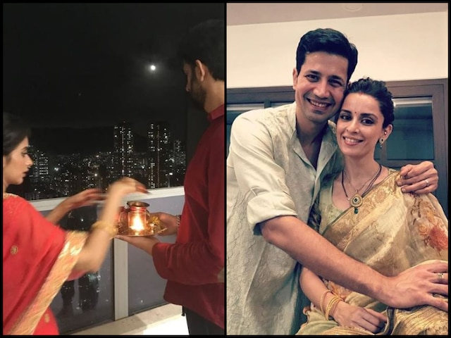 'Mere Angne Mein' Actresses Ekta Kaul & Charu Asopa Celebrate First Teej After Wedding With Their Husbands! See Pictures!