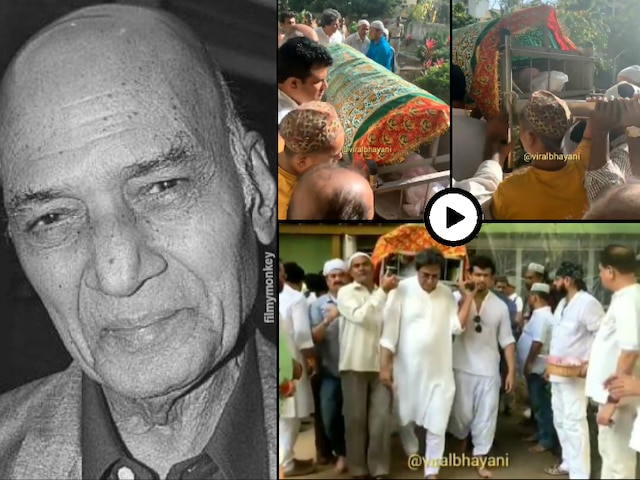 Legendary music composer Khayyam cremated with full state honours, Bollywood fraternity pays last respects