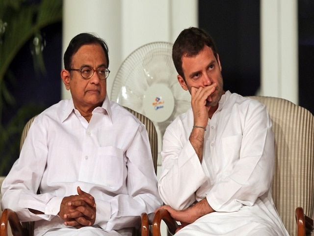 Rahul Gandhi Blasts Modi Govt. For 'Character Assassination' Of P Chidambaram