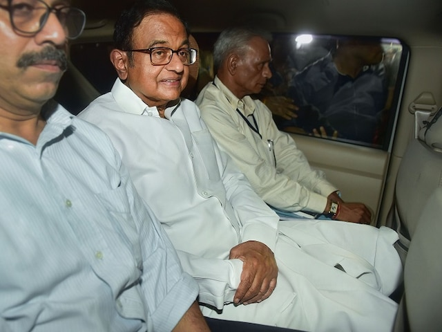 'I worked on Recommendations of IAS Officers,' Chidambaram Shifts Blames During Questioning: sources