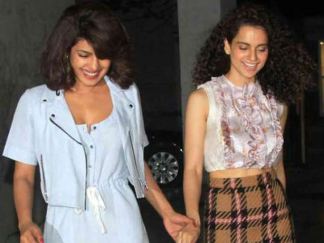 Kangana Ranaut Supports Priyanka Chopra, Says Not An Easy Choice When Stuck Between Duty & Emotions