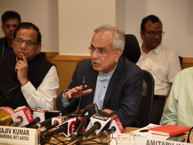 Unprecedented Situation For Govt In 70 Years, Says NITI Aayog VC On Liquidity Crisis