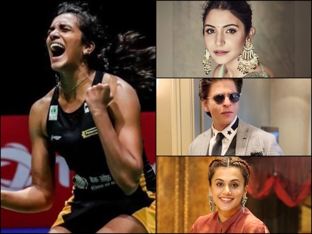 Shah Rukh Khan, Taapsee Pannu Congratulate World Champion P.V. Sindhu On Her BWF World Championships Win