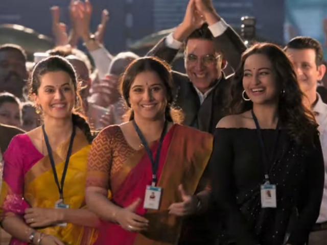 Akshay Kumar-Vidya Balan's 'Mission Mangal' Continues Winning Streak, Crosses Rs. 150 Crore Mark