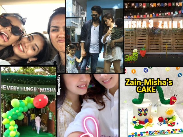 INSIDE PARTY PICS: Shahid Kapoor-Mira Rajput's daughter Misha had joint Birthday celebration with brother Zain Kapoor, cousin Suhaani Wadhwani born the same day!