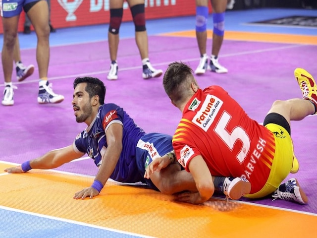 Pro Kabaddi League 2019: Vikas Guides Haryana Steelers To 41-24 Win Over Gujarat Fortunegiants