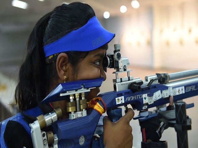 ISSF World Cup: Elavenil Valarivan Clinches Gold For India In 10m Air Rifle event