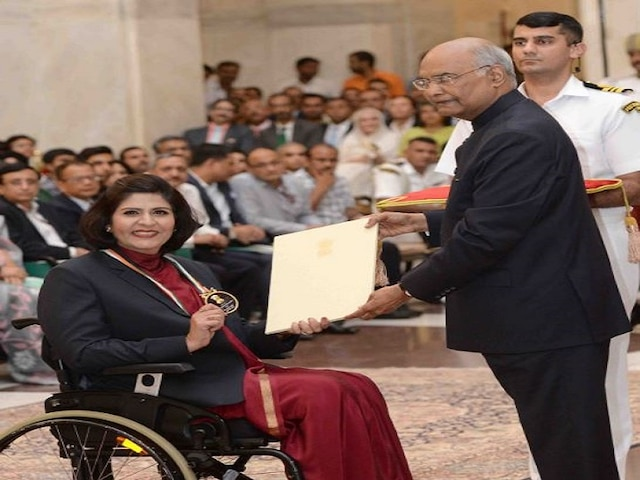 National Sports Day 2019: Deepa Malik Receives Khel Ratna, Bajrang Punia Misses Ceremony
