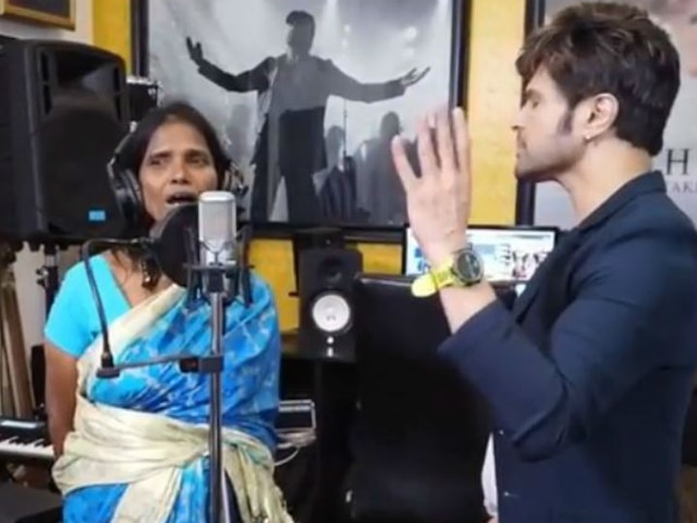 VIRAL Singing Sensation Ranu Mondal Records New Song Titled 'Aadat' With Himesh Reshammiya