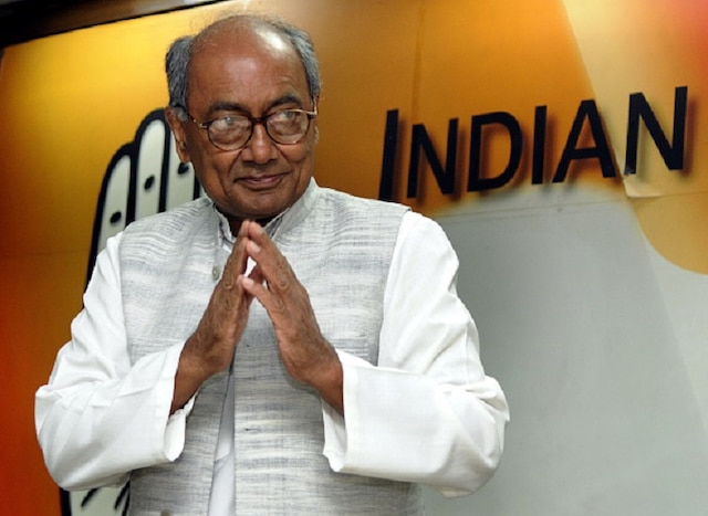 Digvijaya Singh Strokes Controversy; Alleges BJP, Bajrang Dal Take Money From Pakistan's ISI