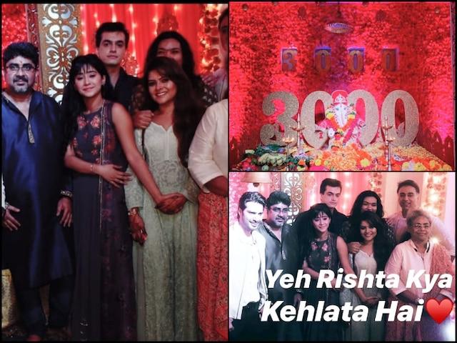 Yeh Rishta Kya Kehlata Hai Completes 3000 episodes, Shivangi Joshi, Mohsin Khan & Other Actors Celebrate Ganesh Chaturthi (PICS & VIDEO)