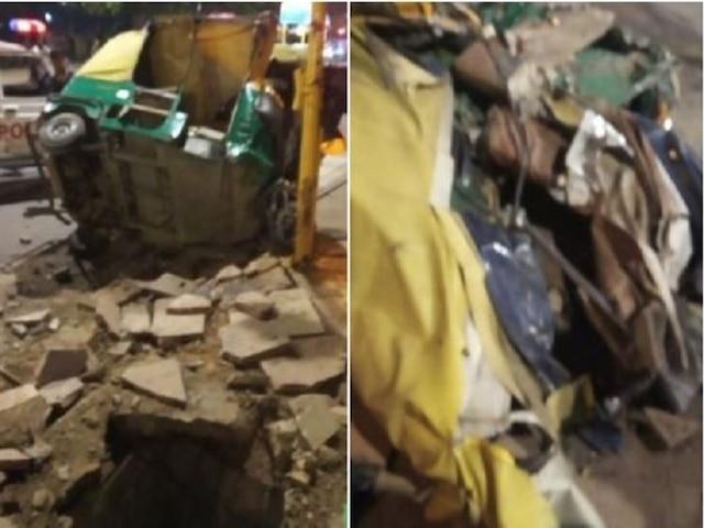 Delhi: 2 Dead As Dumper Truck Runs Over Autos, Pedestrians Near India Gate
