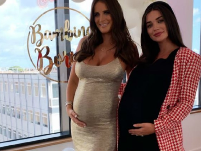 Pregnant Amy Jackson Flaunts Huge Baby Bump At A Friend's Baby Shower! See Pictures!