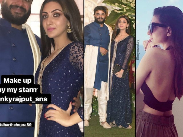 Siddharth Chopra reveals identity of mystery girl with him at Ambani's Ganesh Chaturthi celebration, She's Telugu actress Neelam Upadhyaya