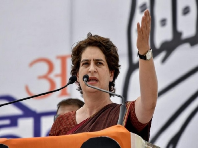 Priyanka Gandhi Hits Out At Govt Over Slowdown; Says 'Economy Falling Into Deep Abyss Of Recession'