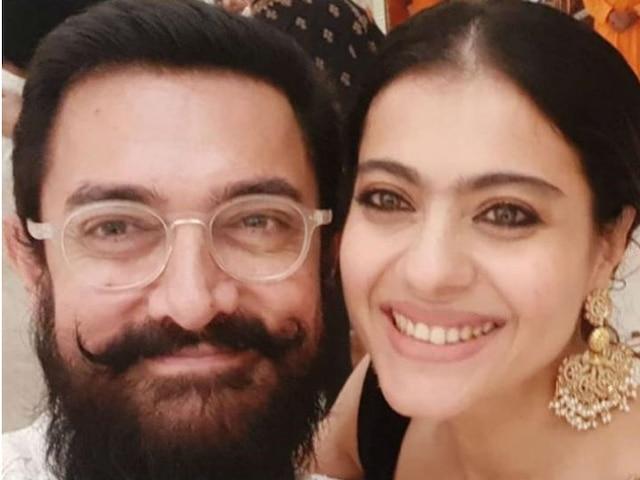Aamir Khan, Kajol Thrilled To Meet 'After So Long' At Mukesh Ambani's Ganesh Chaturthi Celebrations