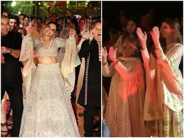 Watch: Deepika Padukone Dances To 'Disco Deewane' On Ramp At Abu Jani-Sandeep Khosla's Fashion Show As Jaya Bachchan & Daughter Shweta Nanda Cheer Her!
