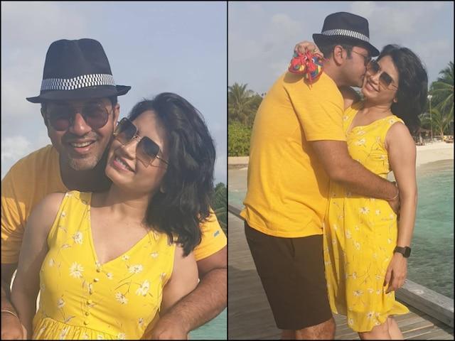 Pregnant Priya Ahuja Aka Rita Reporter From 'Taarak Mehta Ka Ooltah Chashmah' Shares PICS With Hubby