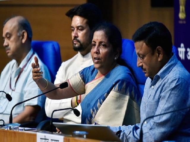 Economic Slowdown: Nirmala Sitharaman On RBI Fund Transfer GDP Growth