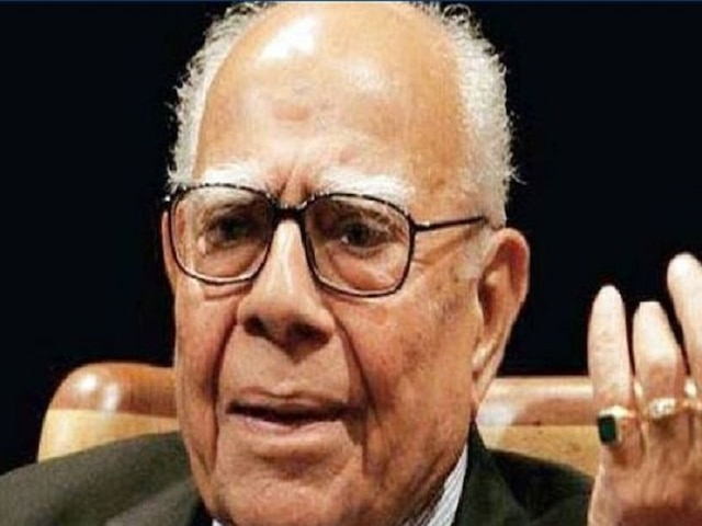 Ram Jethmalani passes away at the age of 95