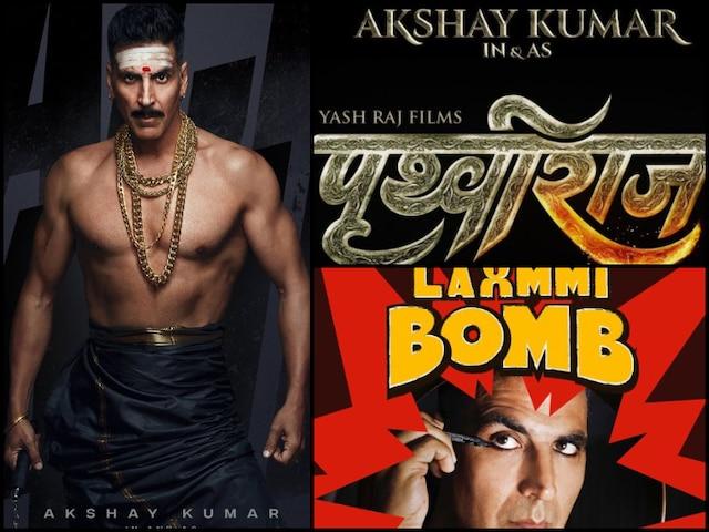 From Prithviraj To Laxmmi Bomb, Akshay Kumar Lines Up Films For Major Festive Fridays Next Year