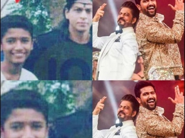 Vicky Kaushal Shah Rukh Khan throwback pic- 'says dreams do come true'