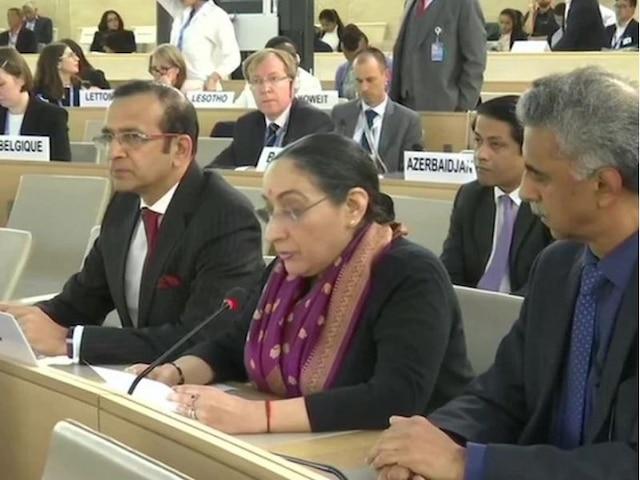 At UNHRC, India Slams Pakistan Over False Narrative on J&K ; Says 'Terror Epicentre Now Crying Victim'