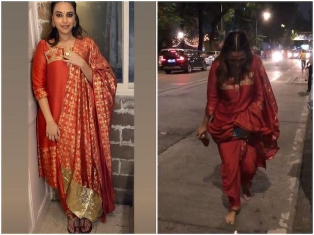 WATCH: When Swara Bhasker Lost Her Kolhapuri Flats And Had To Return Barefoot