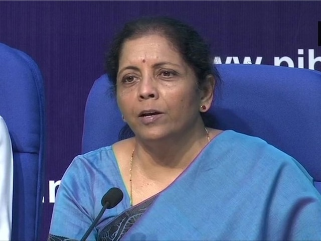 Sitharaman Announces Rs 60,000 Crore Boost To Exports, Housing