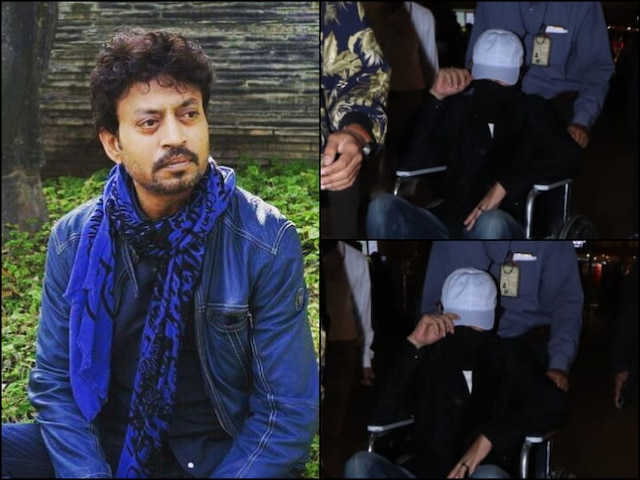 Irrfan Khan Had 'Successful Surgery' In London, Angrezi Medium Actor Was Spotted Leaving Mumbai Airport In Wheelchair