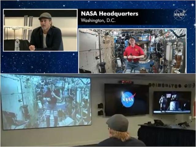 Brad Pitt Asks NASA Astronaut If He Spotted Chandrayaan 2 Vikram Lander; Watch Inside!